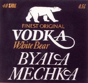 VODKA BYALA MECHKA White Bear