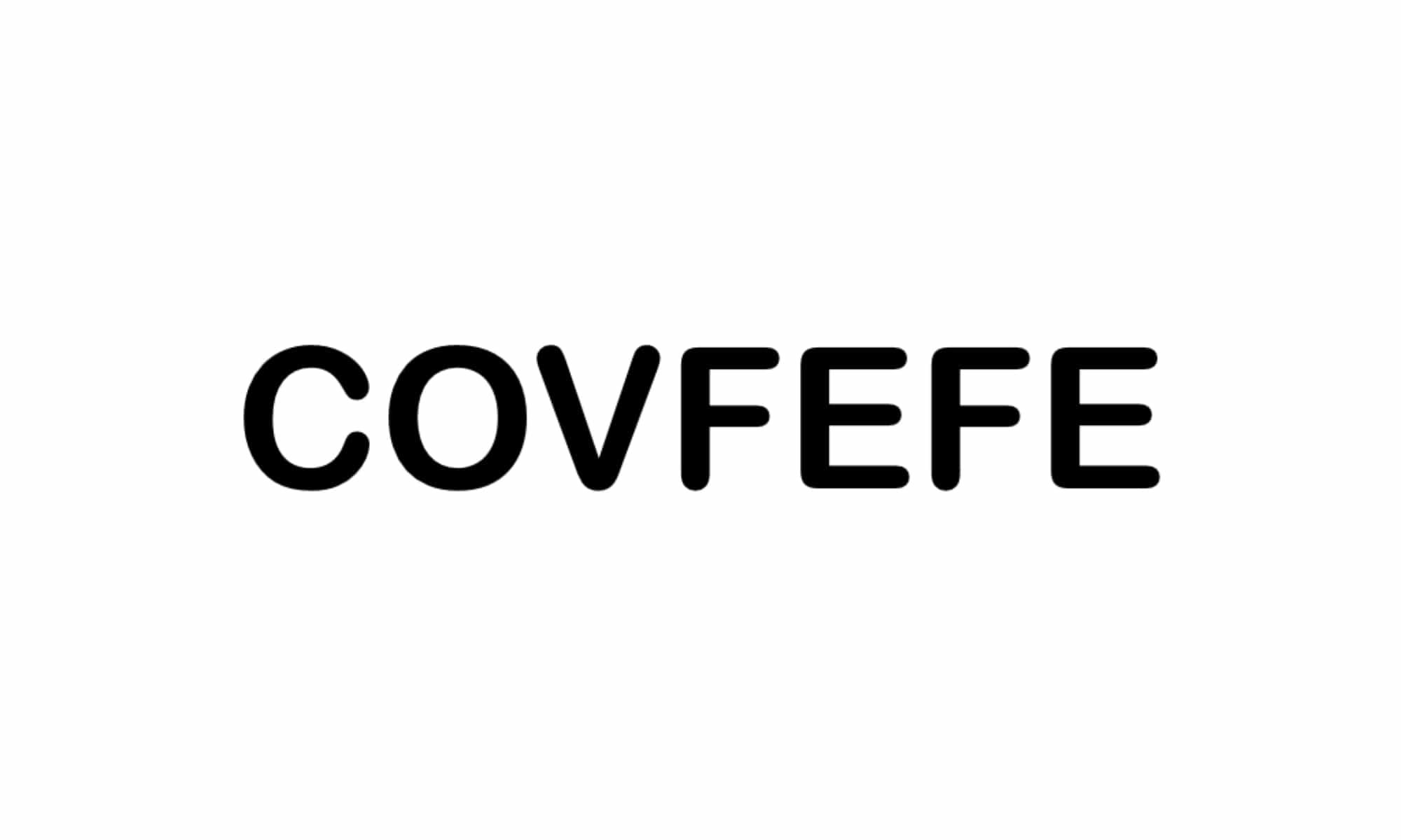 3 германски заявки за COVFEFE и covfefe